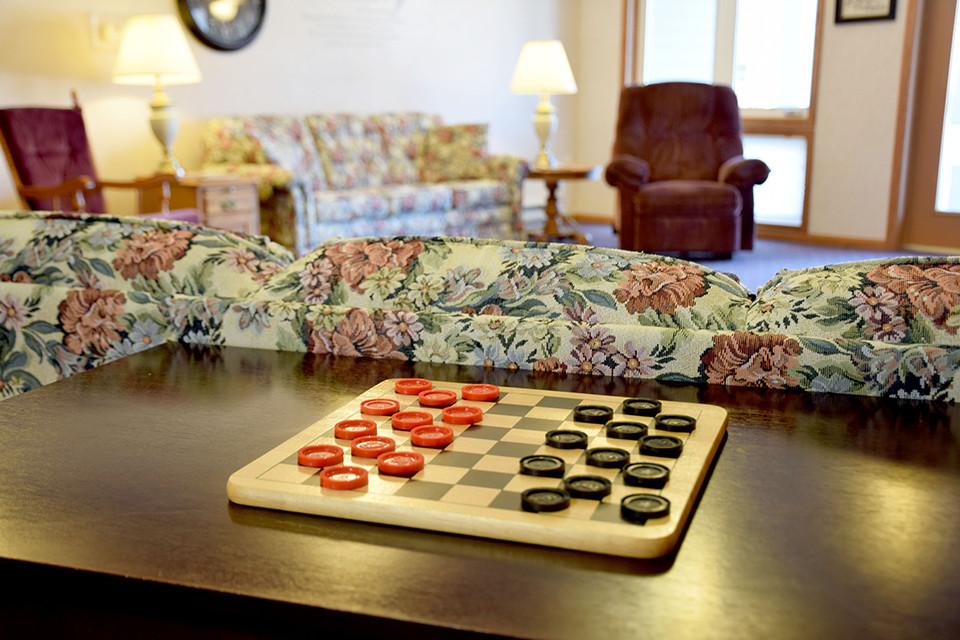 Oak Estates - Living Room