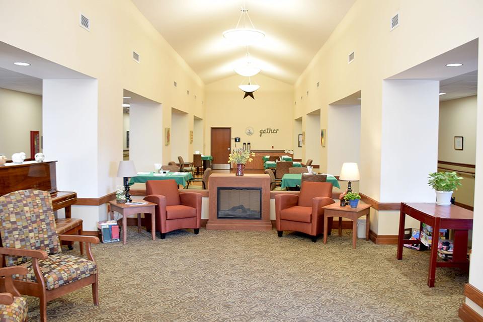 Oakview Nursing Home - Dining Room